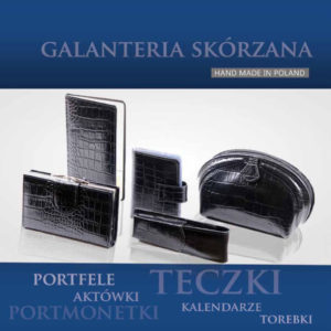 Katalog polskiego producenta galanterii skórzanej