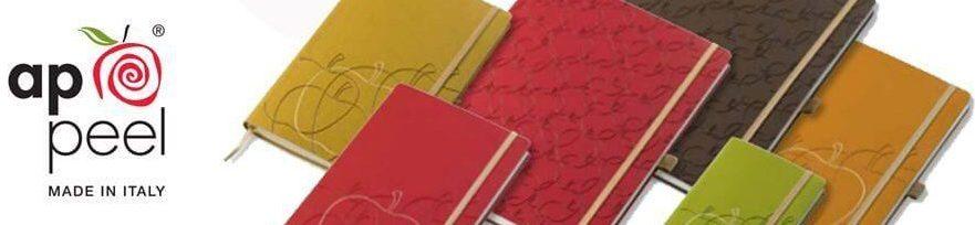 Włoskie notesy i kalendarze wykonane z jabłek